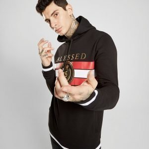 Supply & Demand Blessed Gold Foil Overhead Hoodie Musta