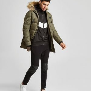 Supply & Demand Deux Parka Jacket Khaki