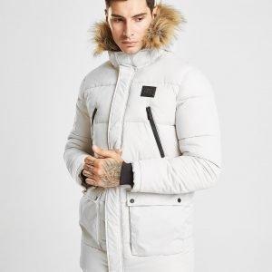 Supply & Demand Deux Parka Jacket Luonnonvalkoinen