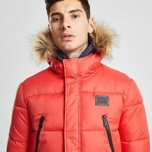 Supply & Demand Deux Parka Jacket Punainen