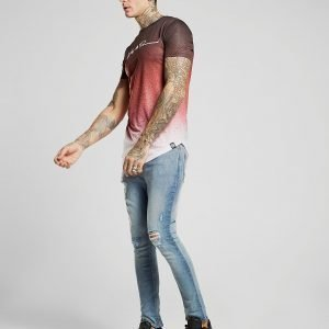 Supply & Demand Jack Flecked Jeans Sininen