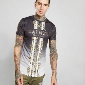 Supply & Demand Linear Baroque T-Shirt Musta