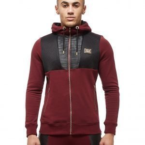 Supply & Demand Lorenzo Loop Hoodie Burgundy / Black