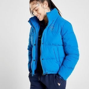 Supply & Demand Padded Boxy Puffer Takki Sininen