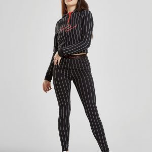 Supply & Demand Pipstripe Leggingsit Musta