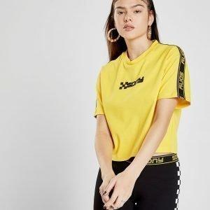 Supply & Demand Speed Crop T-Shirt Keltainen