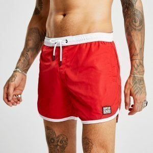Supply & Demand Track Swim Shorts Punainen