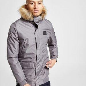 Supply & Demand Vertex Cropped Parka Jacket Harmaa