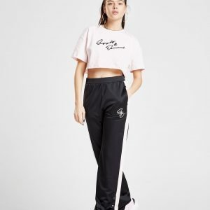 Supply & Demand Wide Leg Popper Pants Musta
