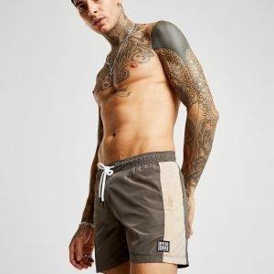 Supply & Demand Workout Swim Shorts Khaki / Brown