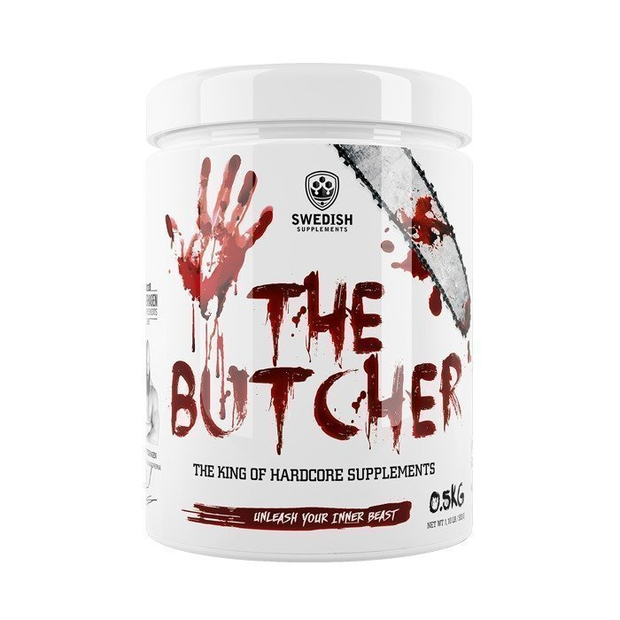 Swedish Supplements The Butcher 500 g Black Razz