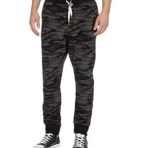 Sweet Pants Loose Print Camo Collegehousut
