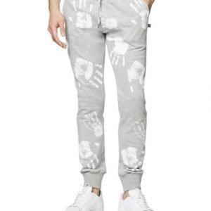 Sweet Pants Terry Slim Print Collegehousut