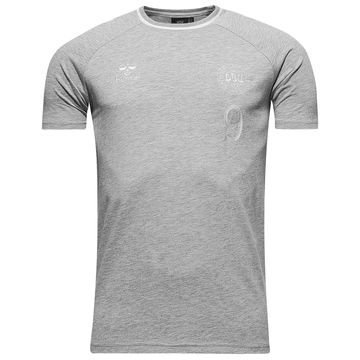Tanska T-paita Heritage Harmaa