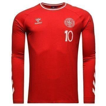 Tanska T-paita L/S Heritage Punainen