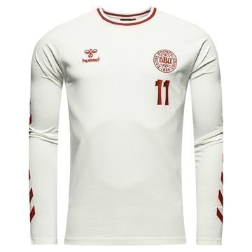 Tanska T-paita L/S Heritage Valkoinen