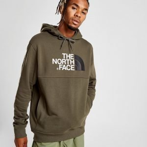 The North Face Bondi Over The Head Fleece Huppari Vihreä