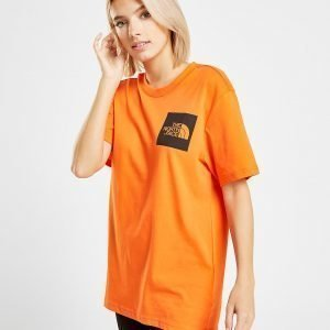The North Face Box T-Shirt Oranssi