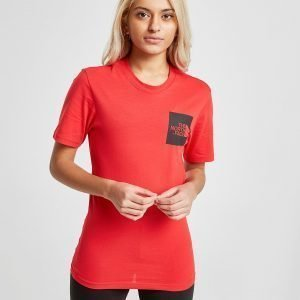 The North Face Box T-Shirt Punainen