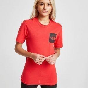 The North Face Box T-Shirt Punainen