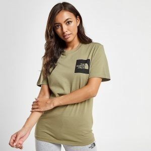 The North Face Box T-Shirt Vihreä