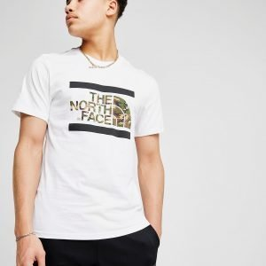 The North Face Dome Lines T-Shirt Valkoinen
