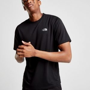 The North Face Flex 2.0 Poly T-Paita Musta
