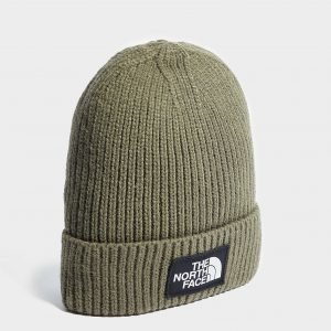 The North Face Logo Beanie Vihreä