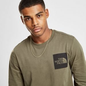 The North Face Long Sleeve Fine T-Shirt Vihreä