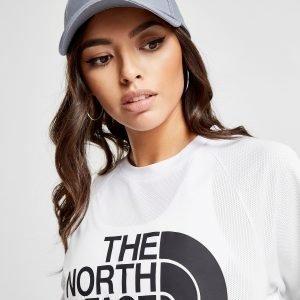 The North Face Mesh Crop T-Shirt Valkoinen