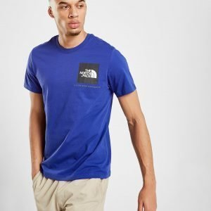The North Face New Fine T-Paita Sininen
