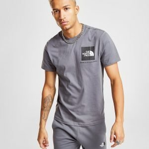 The North Face New Fine T-Shirt Harmaa