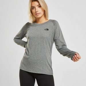 The North Face Reaxion Long Sleeve T-Shirt Harmaa