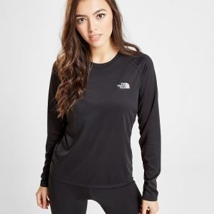 The North Face Reaxion Long Sleeve T-Shirt Musta