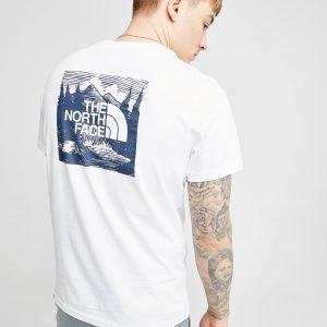 The North Face Redbox Celebration T-Shirt Valkoinen