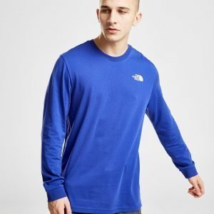 The North Face Simple Dome Long Sleeve T-Shirt Sininen