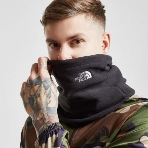 The North Face Snood Fleece Scarf Musta