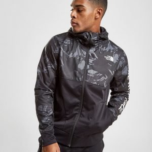 The North Face Train N Logo Full Zip Hooded Jacket Musta