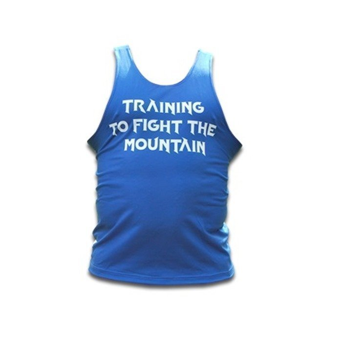 Thors Power Fight the Mountain Tank Blue XL