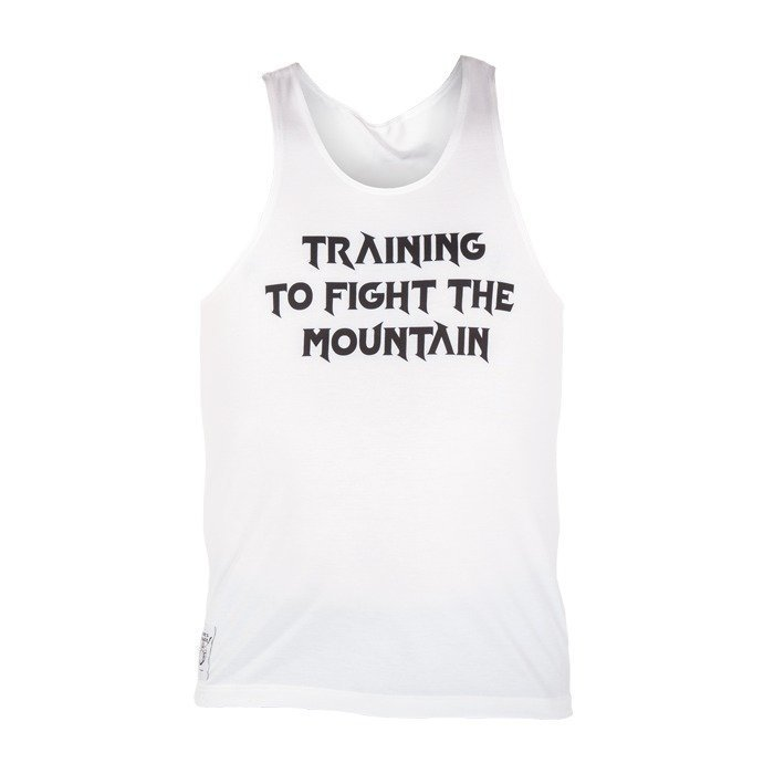 Thors Power Fight the Mountain Tank White XXXL