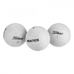 Titleist Kierrätys Golfpallot Titleist Practise 36