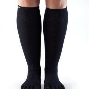 ToeSox Casual Scrunch Knee varvassukka musta