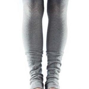 ToeSox Open Heel säärystimet harmaa