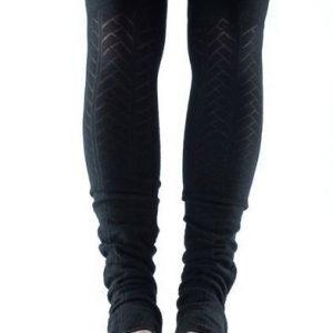ToeSox Open Heel säärystimet musta