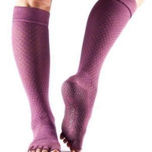ToeSox Scrunch Knee Half toe varvassukka Fishnet Luscious