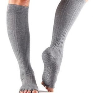 ToeSox Scrunch Knee Half toe varvassukka Pepper