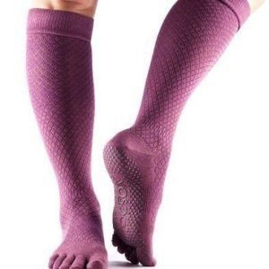 ToeSox Scrunch Knee varvassukka Fishnet Luscious