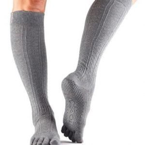 ToeSox Scrunch Knee varvassukka Pepper