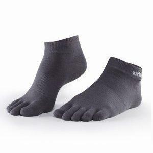 ToeSox Ultralight Ankle varvassukka harmaa