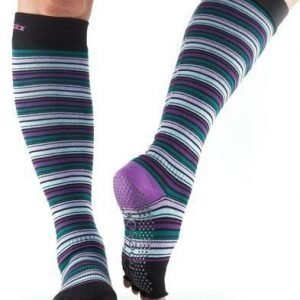 ToeSox-varvassukka Halftoe Scrunch Knee Purple Haze